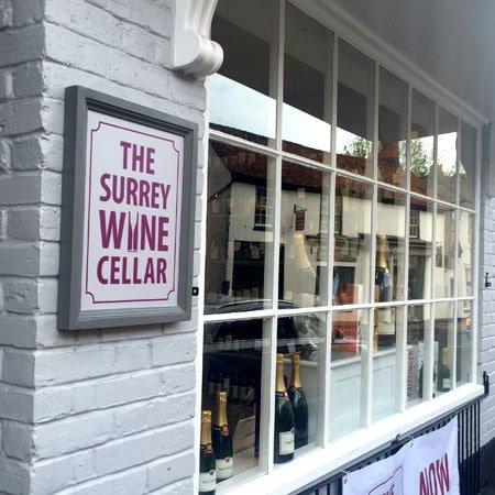 The Surrey Wine Cellar Shop