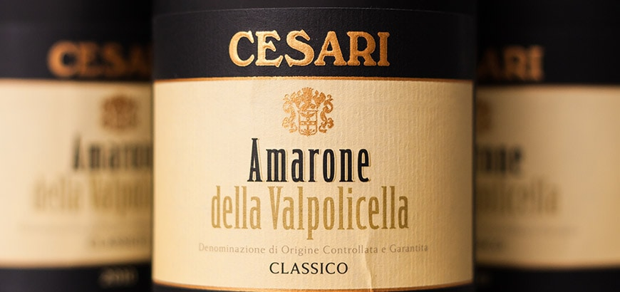 Cesari Amarone Pop Up Dinner 19th October