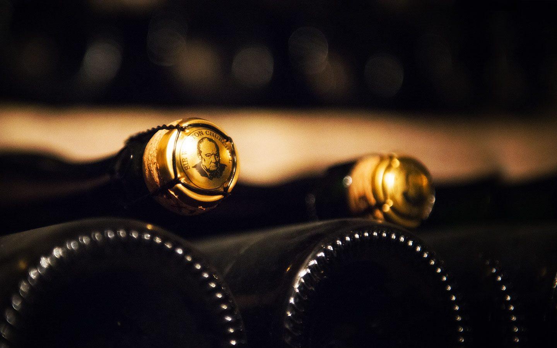 Champagnes Fond Churchill