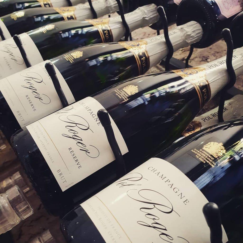 Pol Roger Bottles