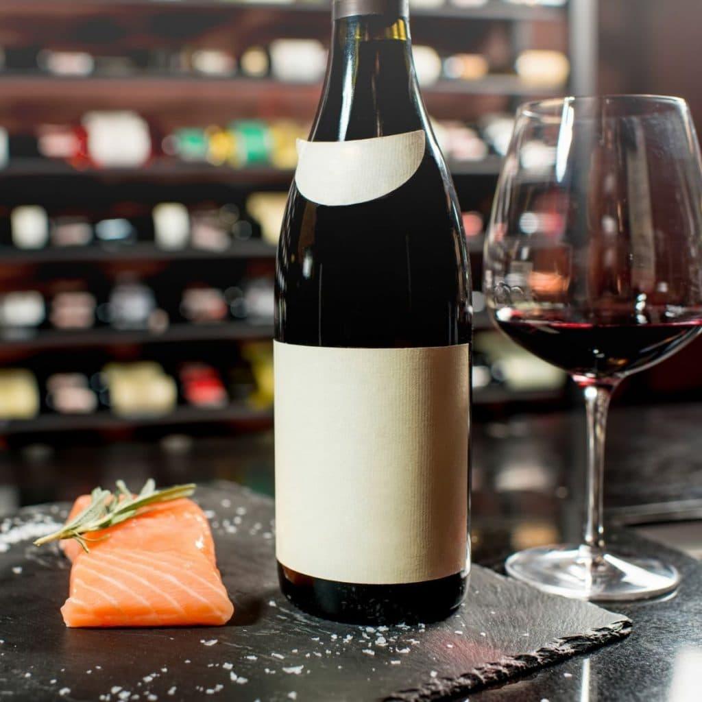Salmon And Pinot Noir