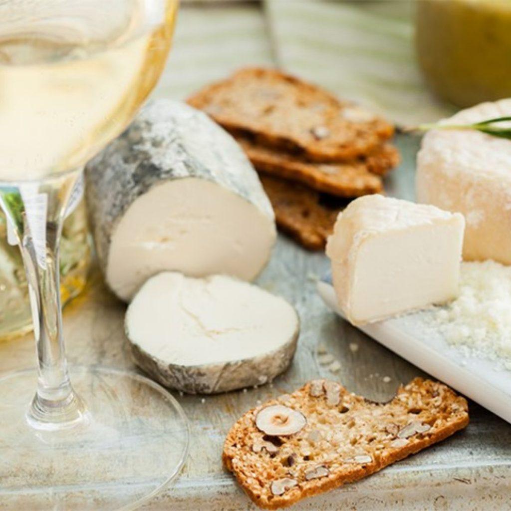 Sauvignon Blanc And Goat Cheese