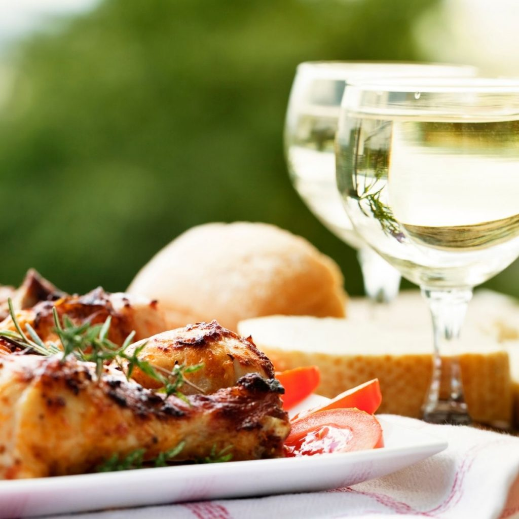 Chicken And Chardonnay